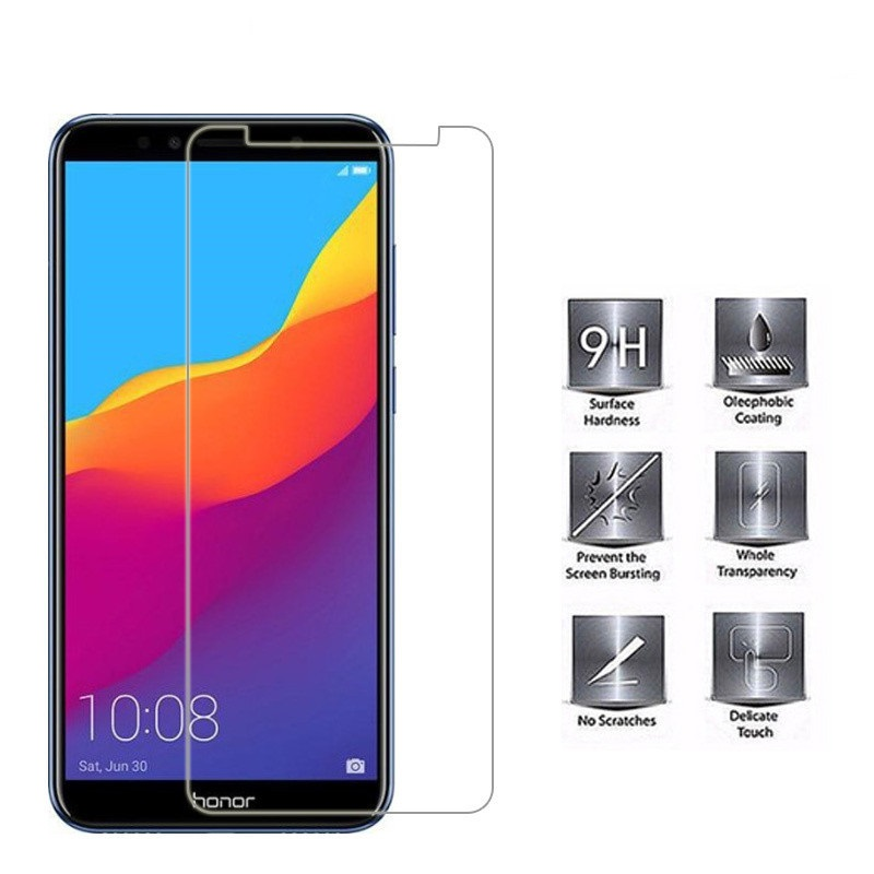 check out b795c cdde3 Huawei Y6(2018) Tempered Glass Screen Protector